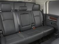 Cab Rear Seat - Durafit Seat Covers, D1307-C1- Seat Covers Made in Black Endura for Dodge Ram 1500-3500 Crew Cab Rear 60/40 Split Seat with Integrated Armrest