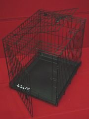 Four Paws Double Door Deluxe Puppy Crate, 24 by 18 by 20 ...