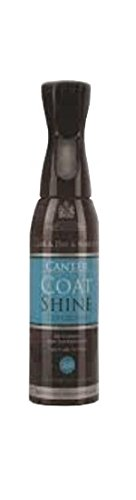 Sheen Instant Conditioner - Canter Coat Shine Equimist 600ml - Provides An Instant & Long Lasting Sheen - Repels Dirt & Prevents Staining - Makes The Application Of Quarter Markings Easier - Keeps Your Horse Or Ponies Coat In Top Condition