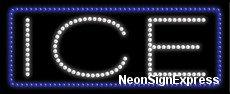 Ice LED Sign