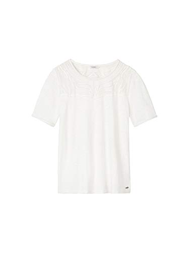 Sandwich Manica Spring Corta Clothing White T shirt Donna rOtrSwT