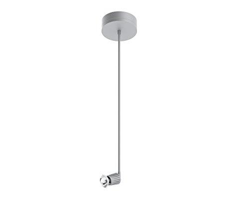 (Prima Lighting 963-00-1305-SV-24 Becker Track Head, Small, Polished Chrome)