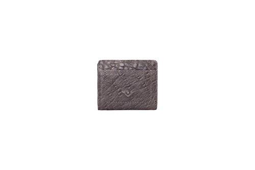 Voi Combinazione Portafoglio Casual 70815 Pelle Unisex: Colore: Nero