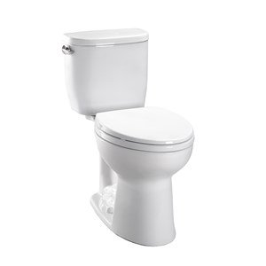 TOTO CST244EF#01 Entrada Elongated Toilet, Cotton