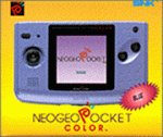 SNK NEOGEO Pocket Color Console in Blue