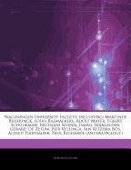 Articles On Wageningen University Faculty, including: Martinus Beijerinck, Louis Raemaekers, Adolf Mayer, Egbert Schuurman, Nicolaas Kuiper, Ismail ... Vellinga, Jan Ritzema Bos, Alfred Hartemink