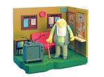 The Simpsons SPRINGFIELD RETIREMENT CASTLE & EXCLUSIVE JASPER World Of Springfield Interactive Environement & Action Figure