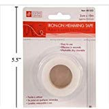 Iron on Adhesive Hem Binding Hemming Tape - Effective Fusible Web Hem Tape for Patching up Fabrics (3) by Sewing Essentials