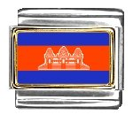Clearly Cambodia Flag...