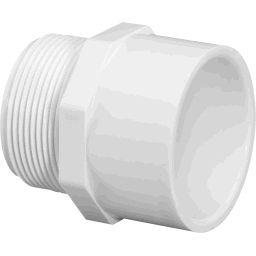 2 Pvc Adapter - LASCO FITTINGS INC 436-020 2