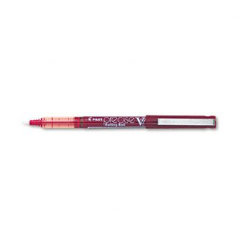 Pilot® Precise® V7 Stick Roller Ball Pen PEN,PRECISE V7,FINE,RD (Pack of5)