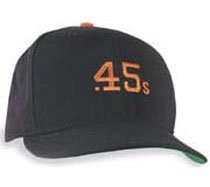 618c740f9dd Amazon.com  Houston Colt .45s 5950 Wool Throwback Cooperstown Cap (7 ...