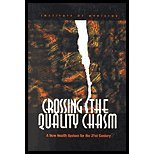 img - for Crossing Quality Chasm - A New Health System for the 21st Century (01) by [Hardcover (2001)] book / textbook / text book