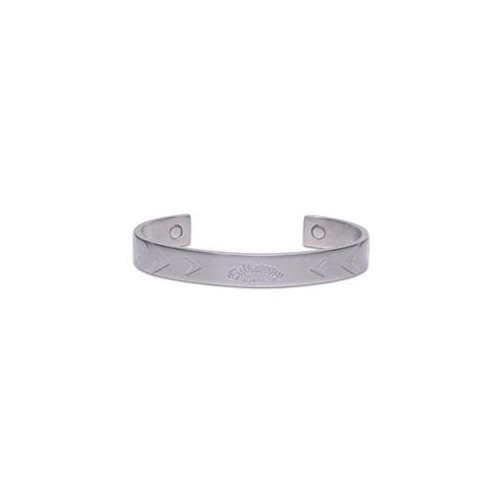 Callaway X-Series Chevron Cuff Ionetix Bracelet - Silver/6.5