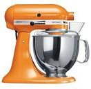 Kitchen Aid 5KSM150 Stand Mixer Tangerine Color – 220 Volts only! Will not Work in the USA For Sale