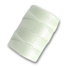 Filo C-Lon Beading Cord 0, 50 mm White x m. 82 Inconnu