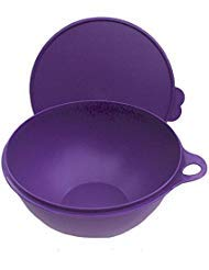 Tupperware Thatsa Bowl 32 Cup Capacity in Royal Purple with Matching Seal by Tupperware