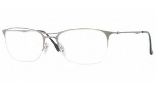 Ray Ban RX8715 Tech Eyeglasses-1159 Brusched Titanium-53mm