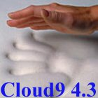 Classic Comfort Pillow included with 4.3 Cloud9 Cal-King 4 Inch 100% Visco Elastic Memory Foam Mattress Topper