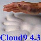 4.3 Cloud9 Queen 4 Inch 100% Visco Elastic Memory Foam Mattress Topper by Cloud9 Bedding Memory Foam
