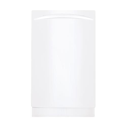 """GE PDW1800KWW Profile 18″"""" White Fully Integrated Dishwasher"""