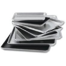 Lincoln Wear - Ever Natural Sheet Pan Full Size 17 3/4 inch x 25 3/4 inch x 1 inch Gauge 18-12 per case.