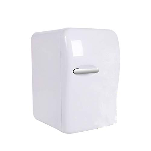 Mini Fridge Cooler and Warmer - 20 Liter 27 can - for Car Home Dorm Room Office Compact & Portable Beverage Fridge -White ()