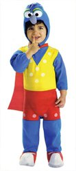 Toddler Boy's Costume: Gonzo Ez-On Romper Size 2T-4T (Gonzo Costumes)