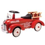 Schylling Metal Speedster-Fire Truck