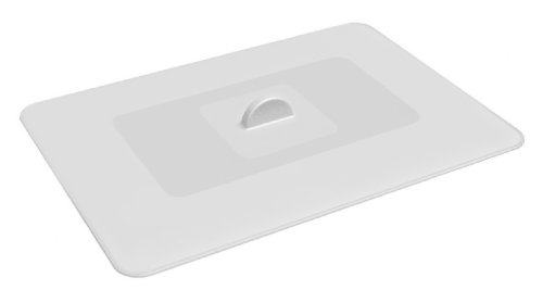 Lekue 13.8 by 9.8-Inch Multifunction Suction Lid, Clear