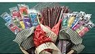 Buffalo Bob's Wild Game Jerky- Sampler Gift Pack of 5 with Bacon Flavored Toothpicks ()