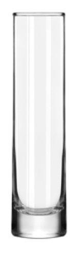 Libbey 7-1/2-Inch Cylinder Bud Vase, Set of (Cheap Flower Vase)