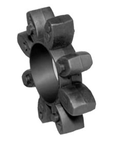 Toothed Ring (Coupling Spider) 92 Shore A yellow size 14 for Couplings RN and RNR backlash-type by Maedler (Image #1)