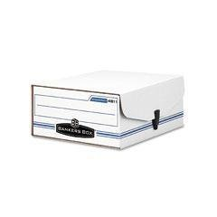 Binder Pak Storage File - FEL48110 - Corrugated Fiberboard - Bankers Box Liberty Binder-PAK - Each