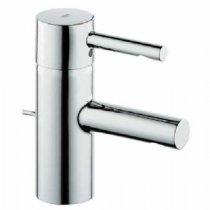 (Essence Single Hole 1-Handle Bathroom Faucet - Chrome)