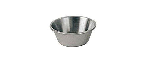 Update International SC-15 1.5 Oz. Stainless Steel Sauce Cup - Dozen ()