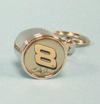 Nascar Gift Tags (Dale Earnhardt Jr. #8 Nascar Chrome Metal Piston Keychains)