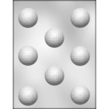 3 Pack  1 5 8  Golf Balls Chocolate Mold