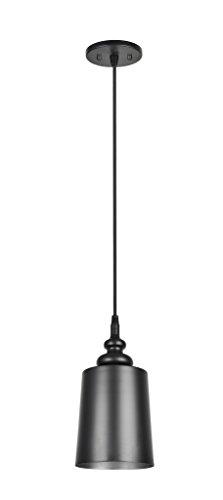 Aspen Creative 61083, 1-Light Hanging Mini Pendant Ceiling Light, 6 1/2