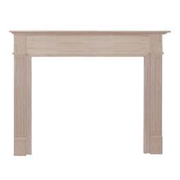 The Williamsburg Fireplace Mantel Surround Shelf Length: -