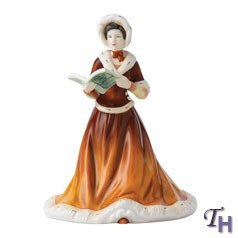 (Royal Doulton Pretty Ladies Eleventh Day of Christmas Figurine)