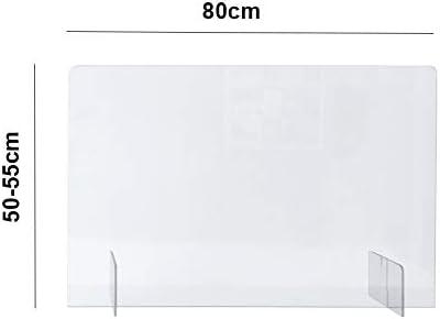 Samo barrera de plexiglass 80x50/55cm: Amazon.es: Bricolaje y herramientas