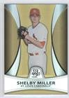 124 Shelby - Shelby Miller #124/539 (Baseball Card) 2010 Bowman Platinum - Prospects Chrome - Gold Refractor #PP25