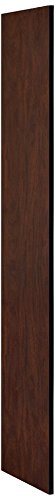 (Salsbury Industries 33333MAH Side Panel for 18-Inch Deep Designer Wood Locker without Sloping Hood, Mahogany)