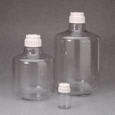 Polycarbonate Carboy, 10 Liter Nalgene Clear Boy with Screw Cap 83B, case/4