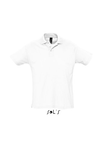 SOL´s Summer Poloshirt White, S