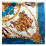 Wociaosmd Women Fashion Dragon Print Scarf Wraps Shawl Soft Square Scarves for Autumn Winter