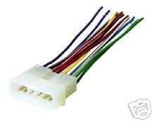 21ZZ010DXFL amazon com stereo wire harness jeep wrangler 88 89 90 91 92 (car 89 jeep wrangler radio wiring diagram at crackthecode.co