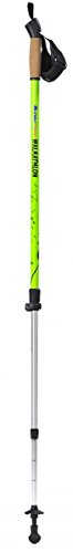 BungyPump Walkathlon, 2-in-1 Fitness Walking Pole, 8.8 lbs 13.2 lbs of Built-in Resistance Fixed Pole for Hiking Trekking