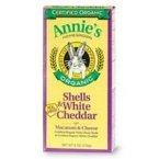 Annie'S Homegrown Organic Pasta & Organic White Cheddar (12x6 OZ)